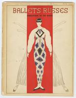 Ballets Russes: Direction W. De Basil souvenir program, front cover