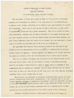 Speech of Secretary of Labor Perkins on Planned Recovery, pages 1 through 4