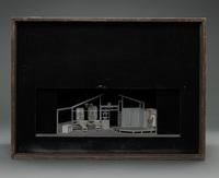 "Set model for ""Kamisori"" (""Razor"") by Kichizo Nakamura, Nippon Geigitso Gekijo; Tokyo; 1966"