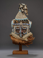 Mashamboy ceremonial mask (mwash a mbooy)
