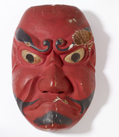 Noh mask of a demon