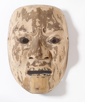 Noh mask of mad male (possibly Kantan Otoko)