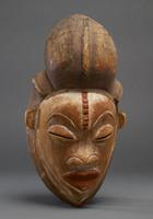 Kota ceremonial mask from Ogowe River