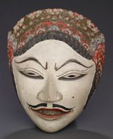 Javanese dance mask (male)