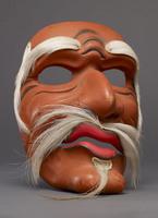 Male mask (possibly a saint)