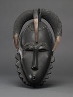 Modern cast of Baule ceremonial mask (possibly a god)