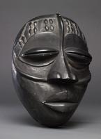 Modern cast of Baule ceremonial mask (Kakagye or Kuamnanbo)