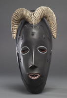 Modern cast of Guro ceremonial mask (Ram)