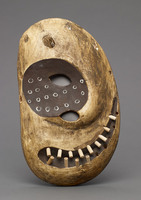 Modern cast of Inuit ceremonial mask