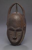 Modern cast of Baule ceremonial mask
