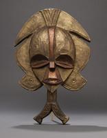 Modern cast of Bakota funerary mask