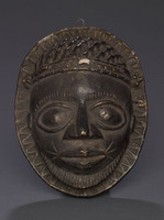 Modern cast of Benin pendant mask