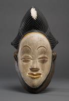 Modern cast of Mponge or Balumbo ceremonial mask