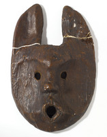 Modern cast of North American Indian ceremonial dance mask from Florida