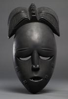 Modern cast of Baule ceremonial Mask (possibly Nyamye)