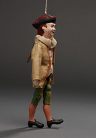 Marionette of boy in tricorne hat