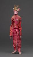 Jigging puppet of pink [devil]