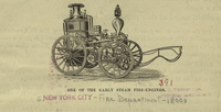 One of the early steam fire-engines