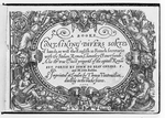 Booke Containing Divers Sortes of Hands, as well the English as French Secretarie with the Italian, Roman, Chancelry & Court Hands