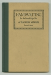 Handwriting for the broad-edge pen : a teachers' manual