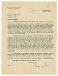 Letter to George A. Plimpton regarding new building and collection