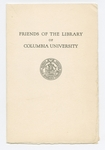 Friends of the Library of Columbia University