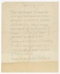 Letter to George Arthur Plimpton, April 24, 1926