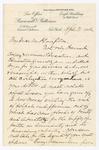 Letter to George A. Plimpton, April 3, 1902