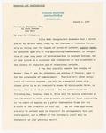 Letter to George Arthur Plimpton regarding honorary degree, March 4, 1929