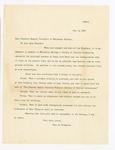 Letter to Caroline Hazard