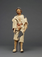 Beggar doll made by Russian emigres living in Iran during WWII.